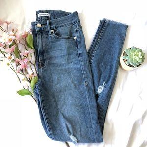 Good American Good Waist High-Rise Skinny Jeans